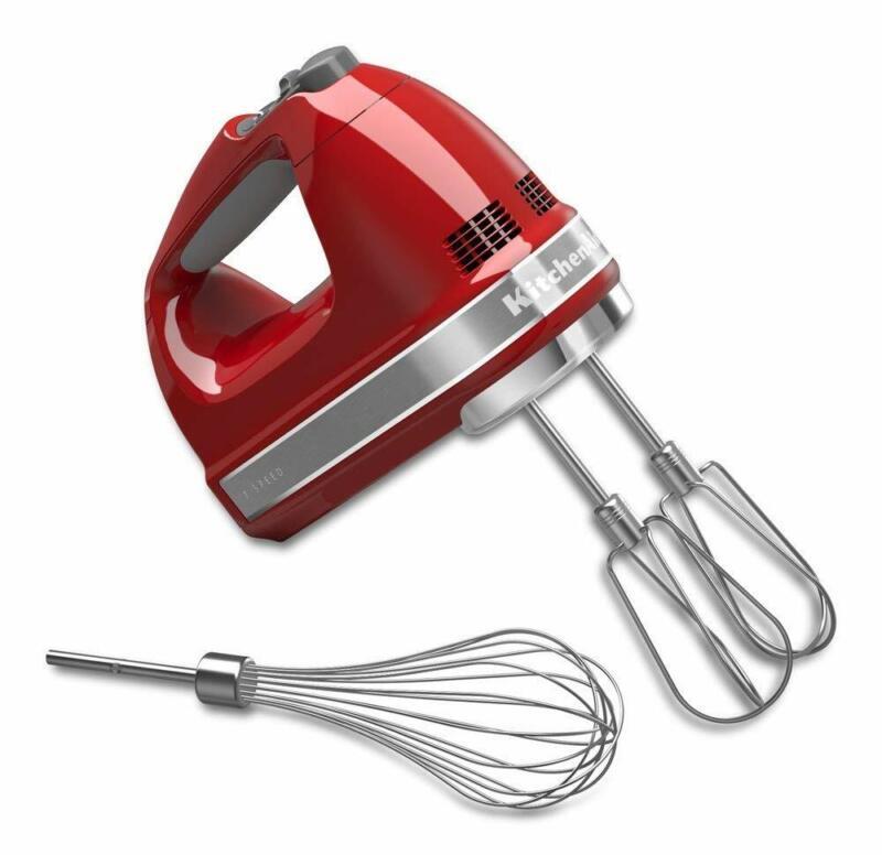 KitchenAid 7-Speed Hand Mixer Empire Red KHM7210ER