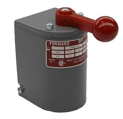1.5 Hp-2 Hp Electric Motor Reversing Drum Switch Single Phase Positionreturned