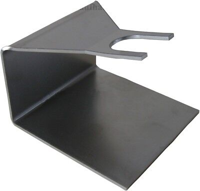 Edelstahlhalter für Bag in Box Beutel Abfüllhalter Beutelhalter Halter Höhe 10cm