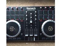 Numark mixtrak pro 2 with case