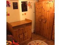 Selfridges Teddy Bear Solid Pine Nursery Furniture Set