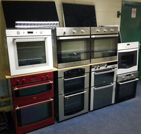 Great Value Double/Single Ovens and Hobs - all with warranty