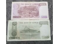 SOUTH KOREAN 11,000 WON