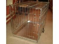 Brand New Medium Sized Dog Cage Still in the Box