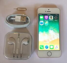 Apple iPhone SE 16GB Rose Gold Excellent Condition Unlocked