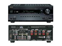 ONKYO TX-SR608 7.2ch suroundsound AV receiver - black