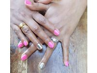 Mobile nail technician. Gel nails, pedicure, gel polish, home visits