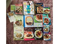 Weigh Watcher (WW) books, recipe cards and mags