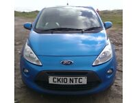 Ford KA Titanium 2010 New Shape - 12 Months MOT - 2 Owners - Fully Loaded:A/C,Alloys,Parking Sensors