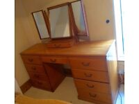 Furniture to go: Wardrobe, dressing table, easy chair