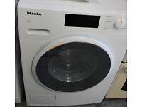 MIELE W1 WWD 120 WCS 8 kg 1400 Spin A+++ Washing Machine White