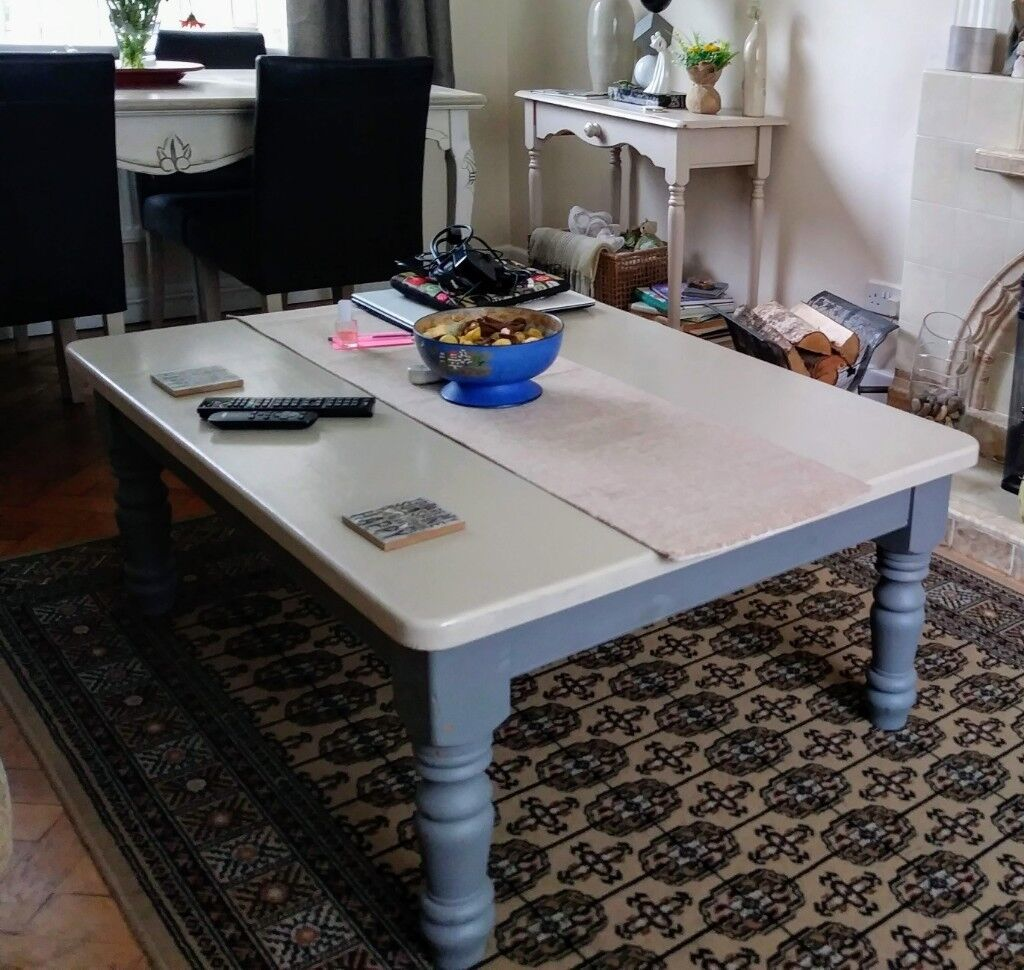 Large Solid Wood Coffee Table Ft X Fti In Ballymoney County - 4ft coffee table