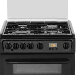 Hotpoint HAGL60K cooker pan supports