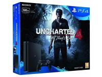 Sony PlayStation 4 500GB Sony PlayStation 4 500GB with Uncharted 4 Bundle
