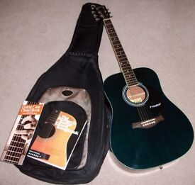 Westfield B200 Dreadnought Acoustic Guitar with CNB Gig Bag and Chord Song Book