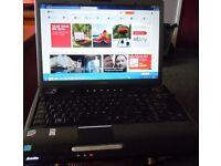 Toshiba P300 17.3 inch screen core duo laptop