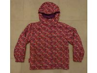 Girl's Mountain Warehouse Ski Jacket – age 9 -10 years