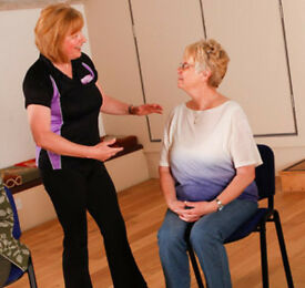 Chair-based Exercise Instructor Online Course - Fancy leading chair-based exercise classes?
