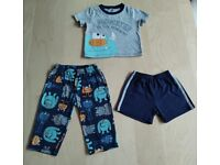 3 Piece Carter's Monster Print Mix and Match Baby Clothes Bundle Set 18 Months