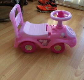 Peppa pig 'my first ride on car'