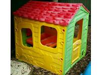 Childrens garden playhouse