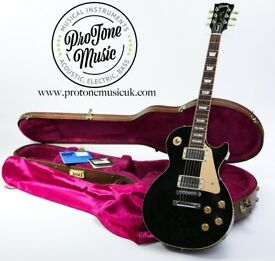 1995 Gibson Les Paul Standard Ebony Black & Original Gibson Hard Case