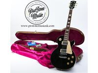 1995 Gibson Les Paul Standard Ebony Black & Original Gibson Hard Case