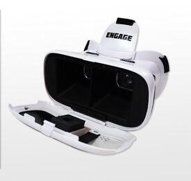 BRAND NEW VR-Insane-Engage-Virtual-Reality-Headset-for-Smartphones-White VR-Insane-Engag