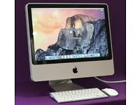 "20"" 2.66GHZ CORE 2 DUO APPLE iMac 4GB 320GB HD CUBASE VECTORWORKS LOGIC PRO X MICROSOFT OFFICE 2016"