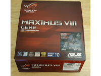 Asus ROG Maximus VIII Gene, Intel Z170, 1151, DDR4, USB3.1, 2-Way SLi/CrossFire
