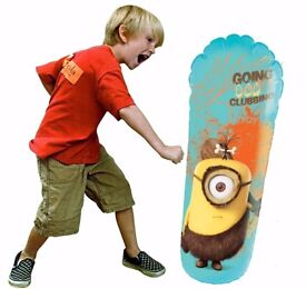 Despicable Me Minions Inflatable Bop Bag Brand New