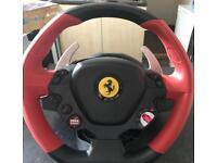 Thrustmaster Ferrari 458 spider racing wheel Xbox one