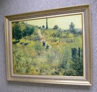 Renoir Painting-Path Leading Through Tall Grass (T-Eaton Print)