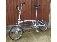 Brompton 6 speed folding bike