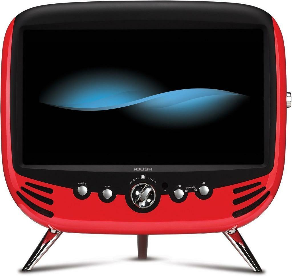 bush retro 22 inch full hd tv dvd combi red in maryhill glasgow gumtree. Black Bedroom Furniture Sets. Home Design Ideas