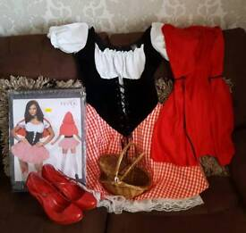 Red Riding Hood Halloween Outfit