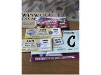 Twinwood Festival Tickets with Caravan C