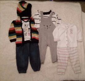 6-9 month baby boy bundle 3 sets