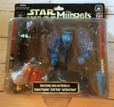 Disney Parks MUPPETS Star Wars Figure Uncle Deadly Gonzo Darth Vader *NEW* Star Wars Muppets