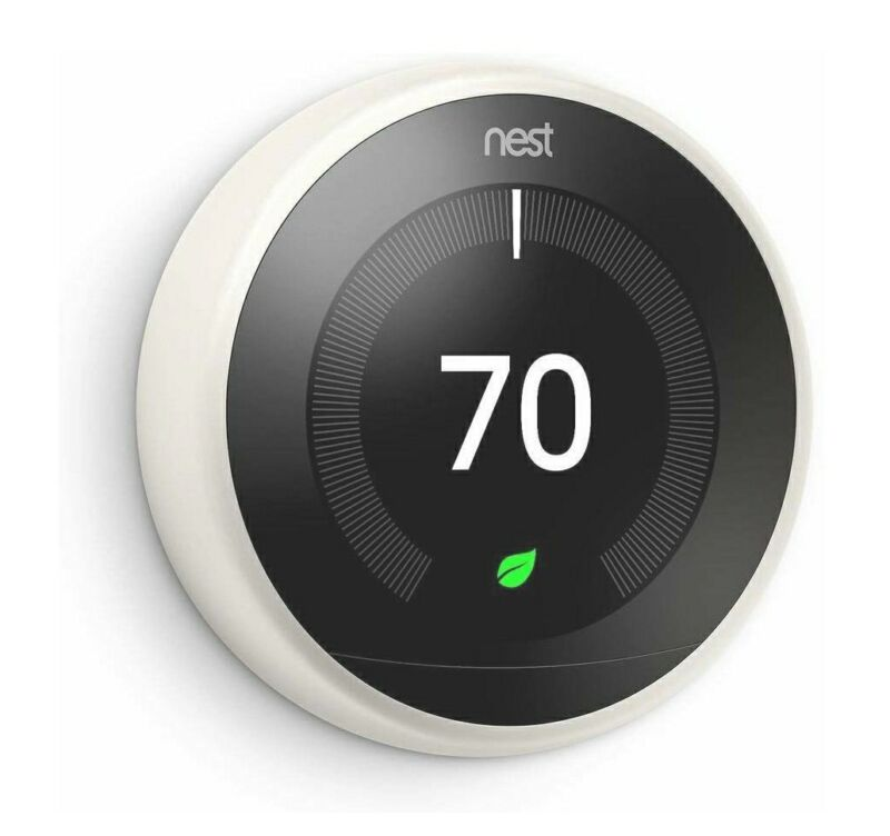 Nest Learning Thermostat 3rd Generation White T3017US
