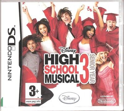 Nintendo DS High School Musical 3 Boxed with Instructions