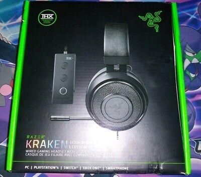 Razer Kraken Tournament Edition Surround Sound Stereo Gaming Headset Black