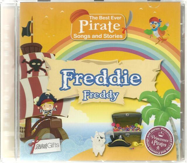 FREDDIE/FREDDY - THE BEST EVER PIRATE SONGS & STORIES PERSONALISED CHILDREN'S CD