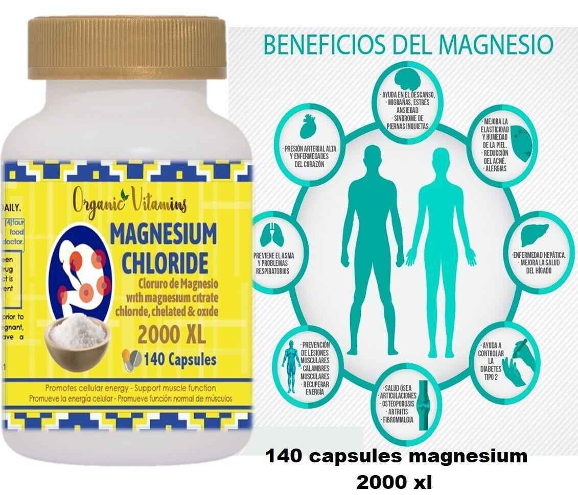 Pastillas De Magnesio  Suplemento De Magnesio Para Nivel Saludable En El Cuerpo