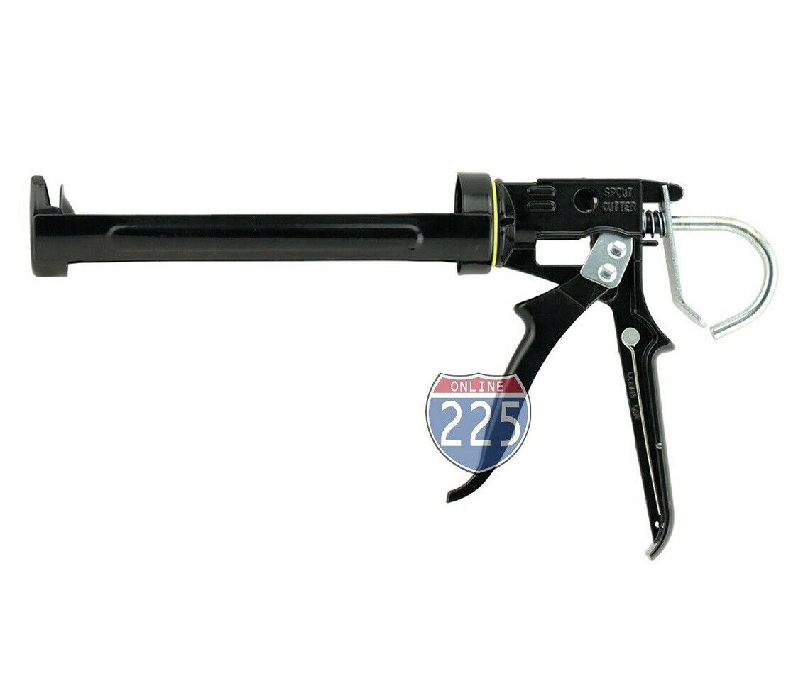 "2 PCS Heavy Duty 9"" Revolving Caulking Gun Spout Cutter & Se"