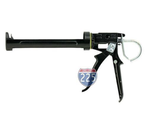 "Heavy Duty 9"" Revolving Caulking Gun Tip/Spout Cutter & Seal Punch 10oz Tube"