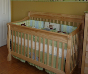 Lit de bebe - 4 in 1 convertible - crib