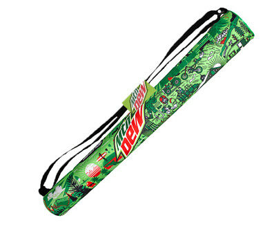 Mountain Dew 6-Pack Beverage Cooler Green / White MTN DEW Pepsi Co. Beach (6 Pack Beach Party)