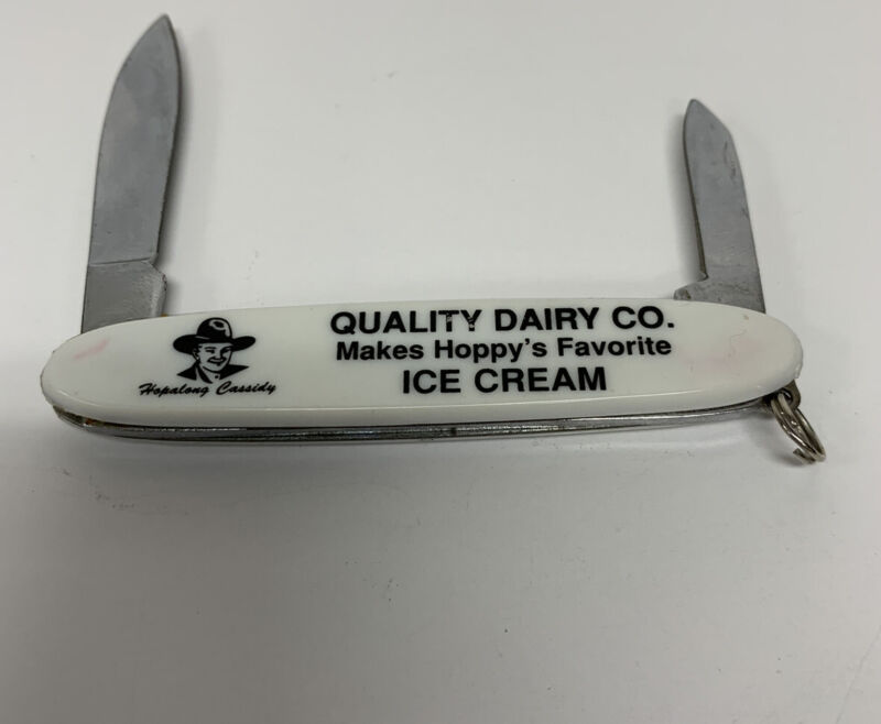 Hopalong Cassidy Quality Dairy Ice Cream Pocket Knife