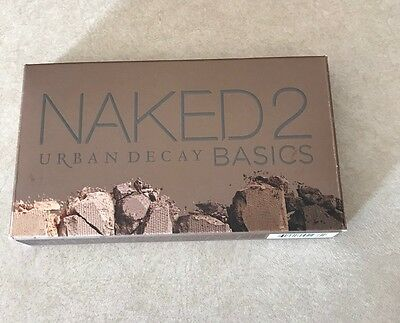 NIB urban decay Naked2 Basics EyeShadow Palette! 100% Authentic